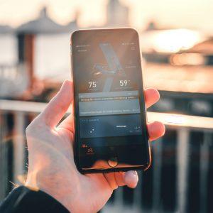 NIU app på telefonen OPT