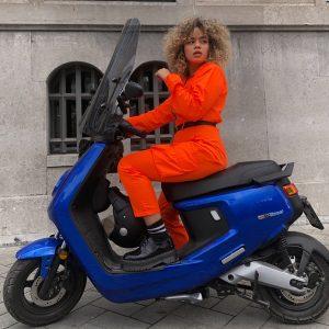 NIU scooter design